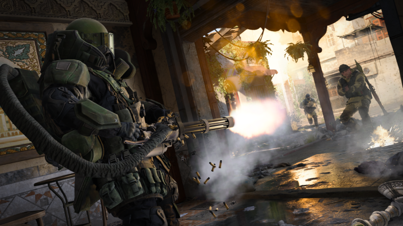 Illustration for article titled The New Call Of Duty's Breezy Multiplayer Feels At Odds With Its Gritty Campaign